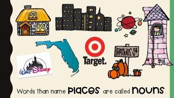 Nouns Are Places