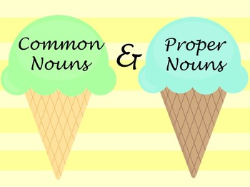 Nouns Are Sweet!