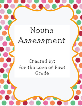 Nouns Assessment