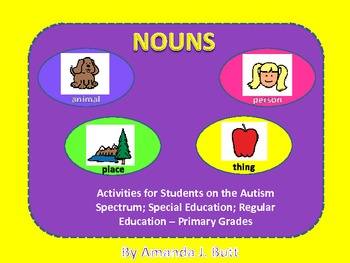 Nouns - Autism; Special Education; Regular Education - Pri