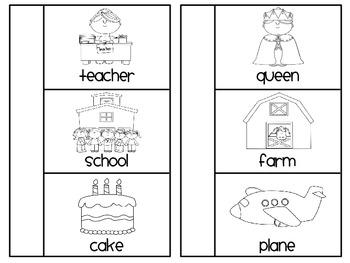 Nouns Book (Person Place Thing Sorting Activity)