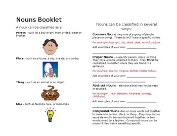 Nouns Booklet