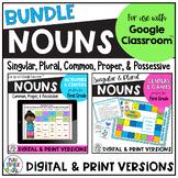 Nouns Bundle |  Printable Digital for use with Google Classroom