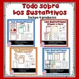 Nouns Bundle (Spanish). Todo sobre los sustantivos.