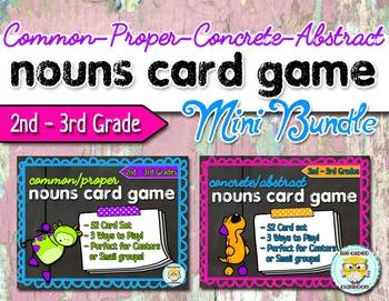 Types of Nouns Game Set
