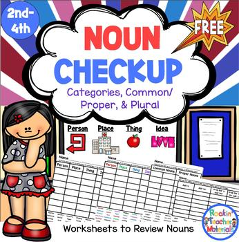 Nouns - Classifying, Common and Proper, and Plurals