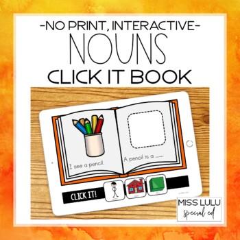 Nouns Click It Book {No Print}