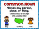 Common Nouns - PowerPoint, Posters, Printables, Games {Bundle}