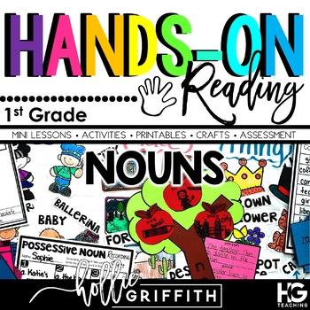Nouns (Common, Proper, Possessive) Hands-on Reading