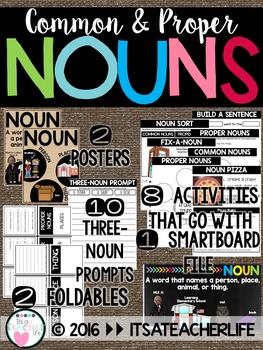 Nouns | Common & Proper Nouns