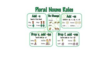 Nouns: Common/Proper, Singular/Plural