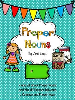 Nouns-Common and Proper Nouns
