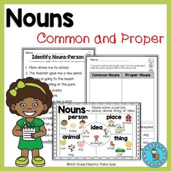 Nouns Common and Proper Nouns Unit