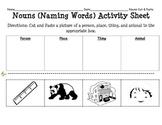 Nouns Cut and Paste