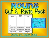 Nouns Cut and Paste Pack