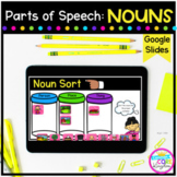 Nouns Digital Activities for Google Slides Distance Learning