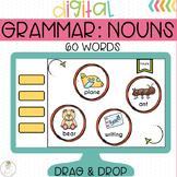 Nouns Grammar Digital Activity for Google Classroom