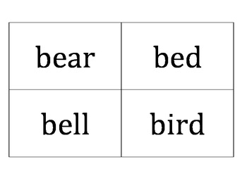 Nouns Dolch Sight Words Flash Cards