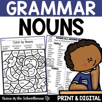 Nouns - Engaging Activities to Teach Grammar