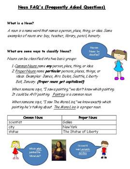 Grammar Worksheets - Nouns