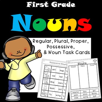Nouns for First Grade