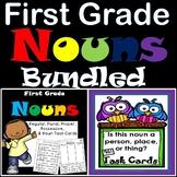 Nouns First Grade Bundled