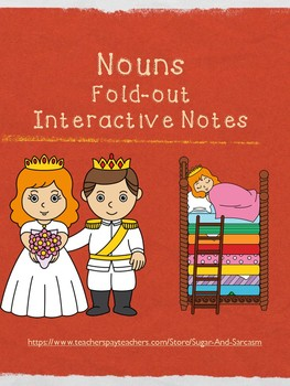 Nouns Fold-out Interactive Notes