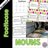 Nouns Task Cards - Footloose ELA Game