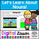 Nouns | For Google Slides™ | Distance Learning | Kindergar