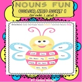 Common Nouns and Proper Nouns Sort