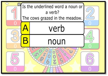 Nouns Game Bundle - for use with Quiz-E Games
