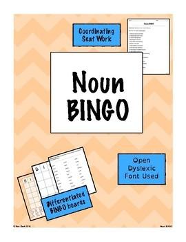 Nouns Games BUNDLE {Differentiated}