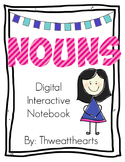 Nouns Digtal Interactive Notebook