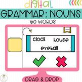 Nouns Grammar Activity for Google Classroom
