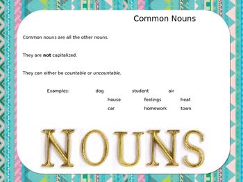 Nouns! - Instructional PowerPoint