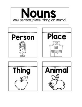 Nouns Interactive Notebook