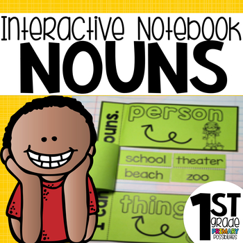 Nouns Interactive Notebook Activities