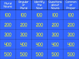 Nouns Jeopardy Review Powerpoint