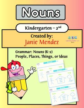 Nouns (K-2nd grade level)