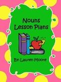 Nouns Lesson Plans (5 days)