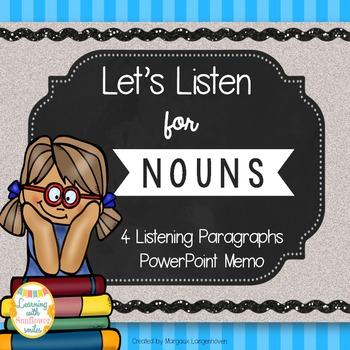Nouns Listening Activity