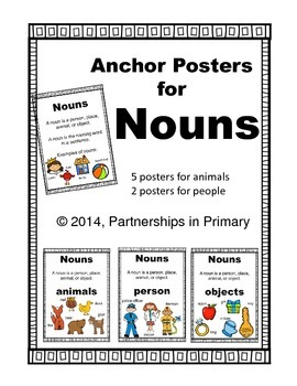 Nouns (Mini Anchor Posters included) DOLLAR DEALS