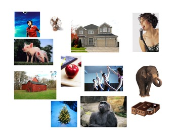 Nouns Name : People Places Things & Animals