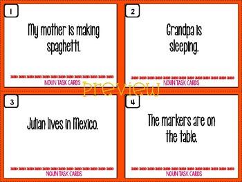 Nouns (No Prep Lesson)