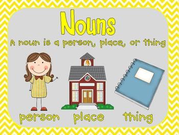 Nouns {Nouns, Common & Proper, Singular & Plural, Possessive} 2 week unit