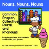 All Types of Nouns-Common, Proper, Pronoun, Plural, Collective