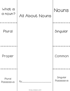 Nouns Pack: 8 Activities to Review & Reinforce Nouns