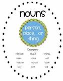 Nouns Pack - Nouns, Proper Nouns, and Pronouns