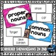 Nouns sorting game with types of nouns