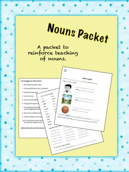 Nouns Packet